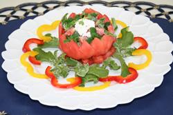 プッチーナのトマトサラダ