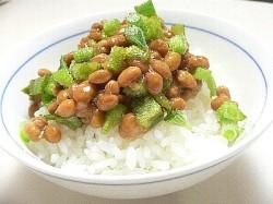 プッチーナ納豆ご飯